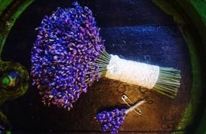 Svadobná kytica z levandule