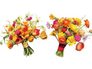 Svadobná kytica - divoká jarná kytica