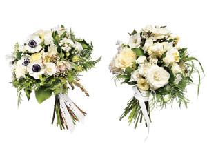 Svadobná kytica - jemná biela kytica