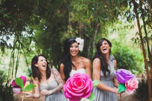 Svadobná kytica z papierových ruží