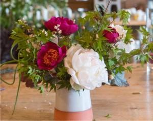 hotový kvetinový aranžmán