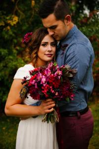 svadobný účes s kvetmi 15
