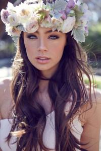 svadobný účes s kvetmi 7