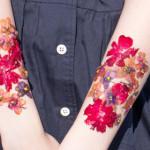 Tetovanie zo sušených kvetov